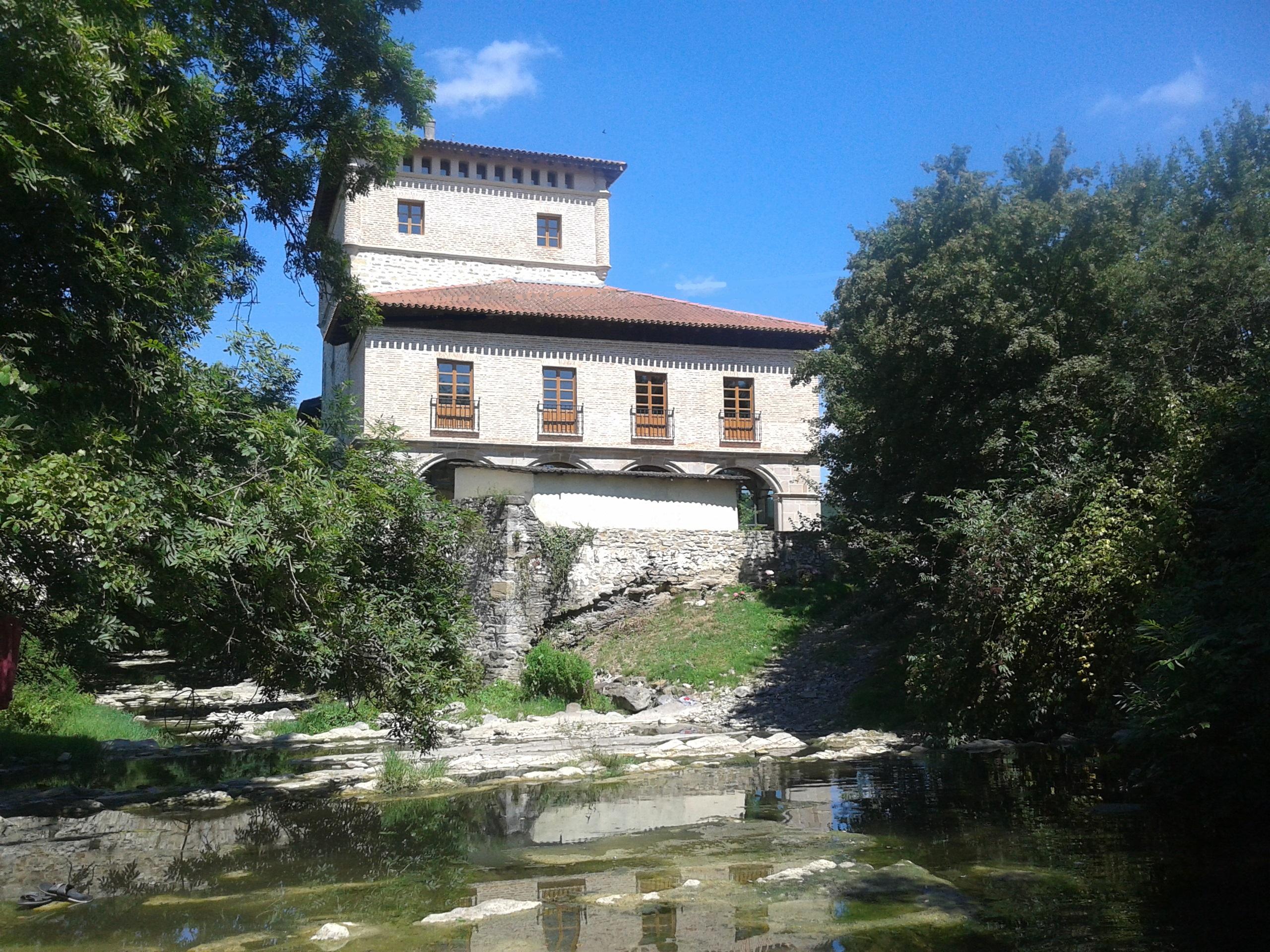 Visitas guiadas con degustación de txakolí a los viñedos y la torre de Murga (Valle de Ayala – Alava)